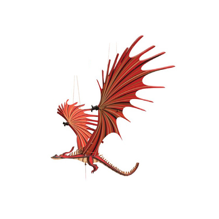 Móvil en Madera – Dragón Pesadilla.