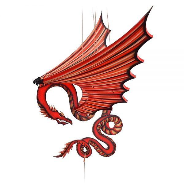 Móvil en Madera - Dragón Chino
