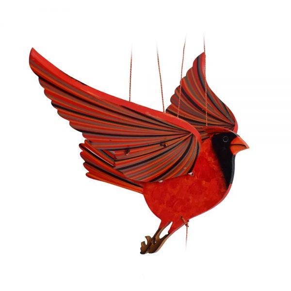 Móvil en Madera - Cardenal