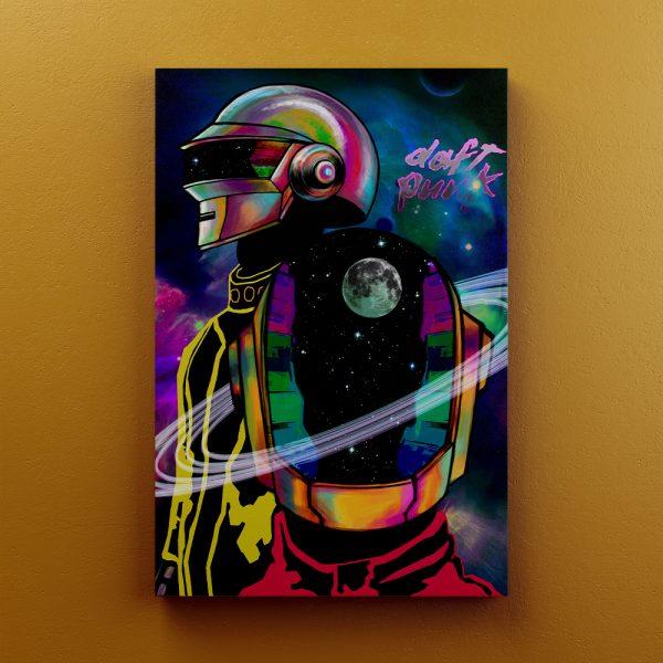 Cuadro Decorativo Daft Punk