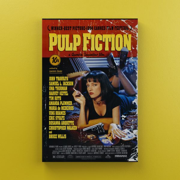 Cuadro Decorativo Pulp Fiction