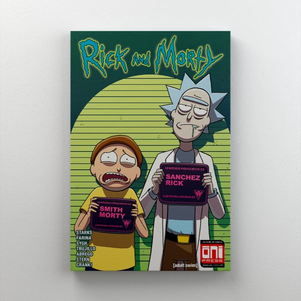 Cuadro Decorativo Rick & Morty