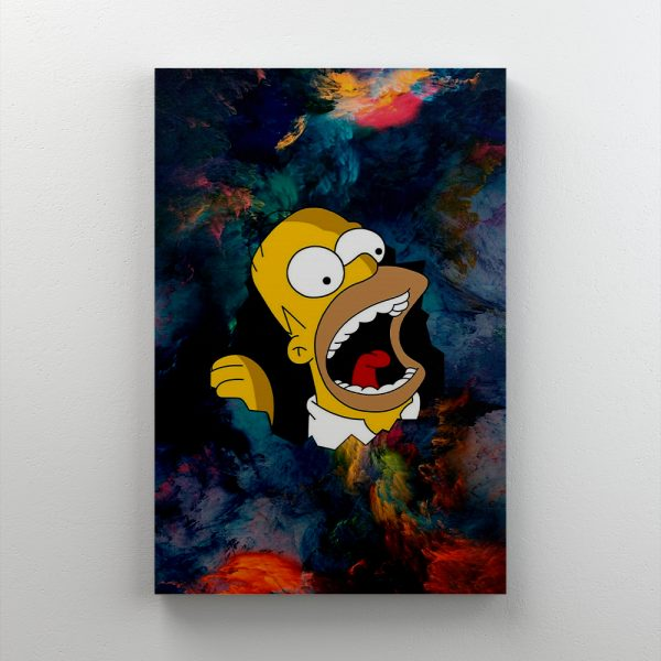 Cuadro Decorativo Homero Simpson