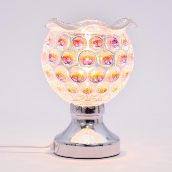 Lámpara Pebetero Táctil Tornasol + Esencia