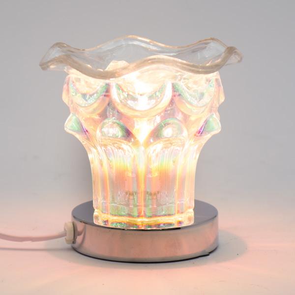 Lámpara Pebetero Táctil Corona + Esencia