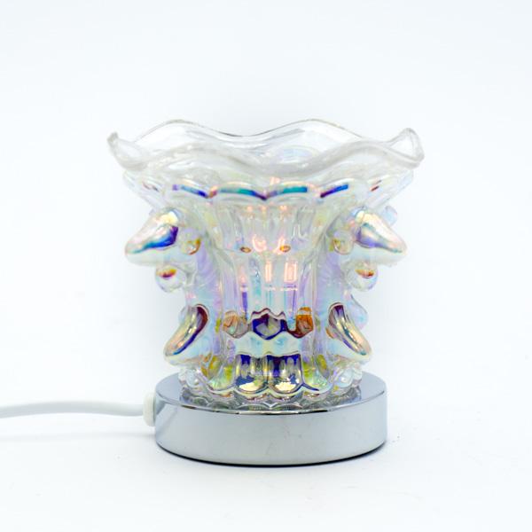 Lámpara Pebetero Mariposa Táctil + Esencia