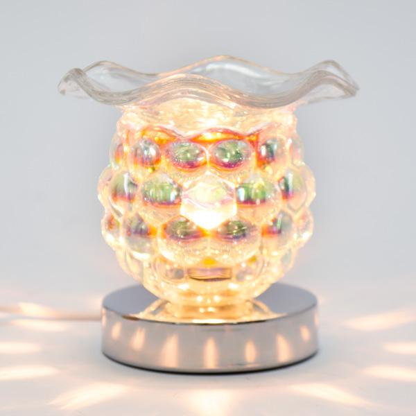 Lámpara Pebetero Táctil moras + Esencia