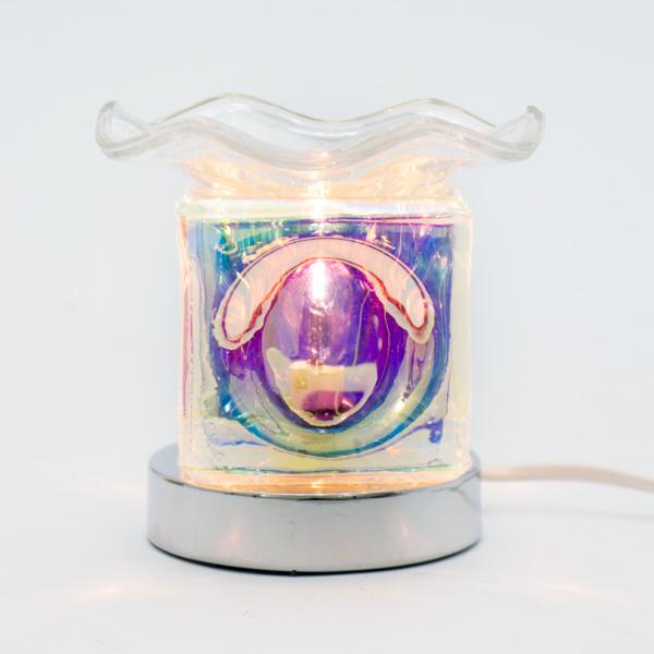 Lámpara Pebetero Cubo Táctil + Esencia