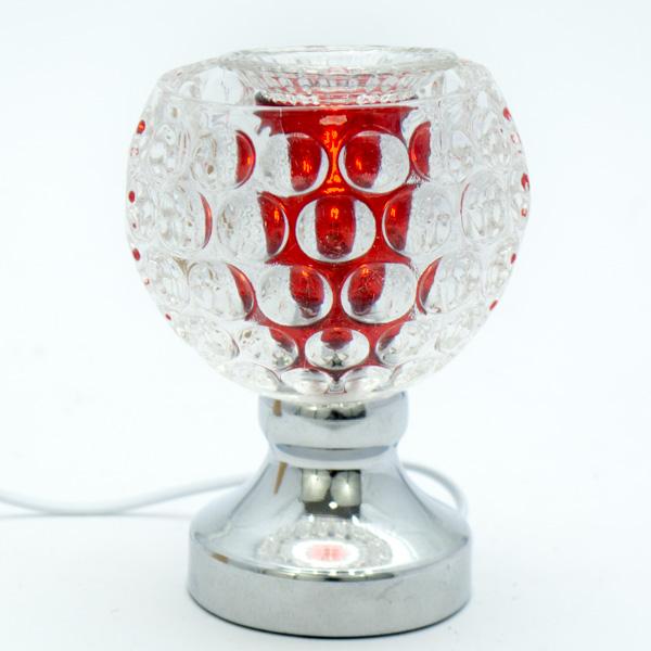 Lámpara Pebetero Táctil Roja + Esencia