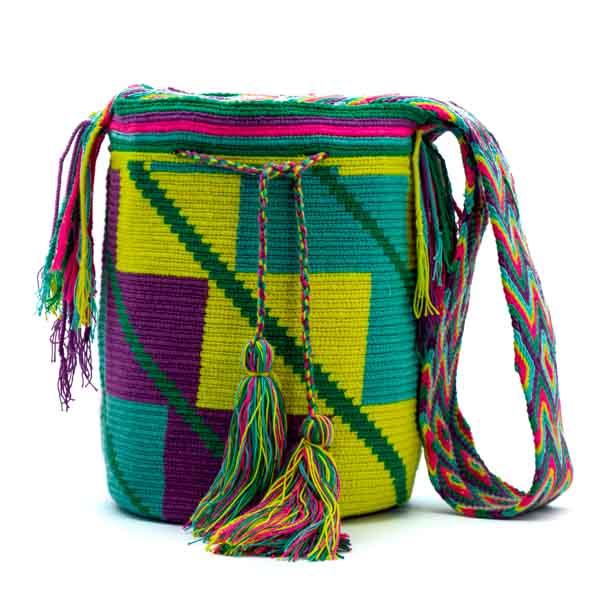 Mochila Wayúu Colombiana 100 % Original
