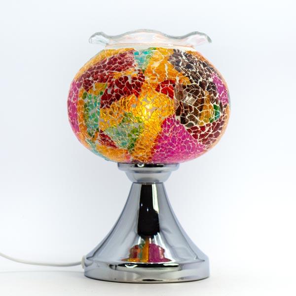 Lámpara de Aroma Pebetero Táctil + Esencia