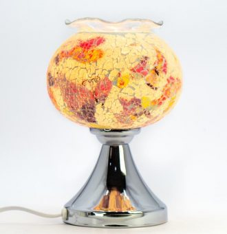 Lámpara de Fragancia: Pebetero Táctil + Esencia