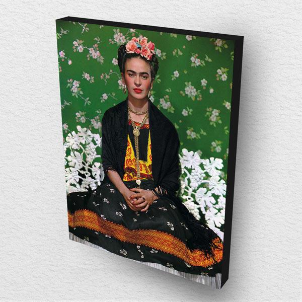 Cuadro Decorativo Frida Kahlo en Madera 30x40 cm