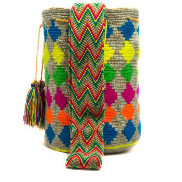 Mochila Wayúu Original Colombiana